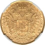 ½ sovrano - Franz I – revers