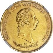 1 sovrano - Franz I – avers