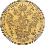 1 sovrano - Franz I – revers