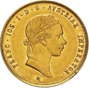 1 sovrano - Franz Joseph I – avers