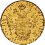 1 sovrano - Franz Joseph I – revers