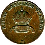 3 centesimi - Franz I – avers
