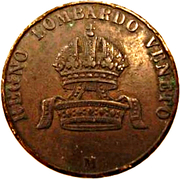 10 centesimi - Franz Joseph I – avers