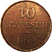 10 centesimi - Franz Joseph I – revers