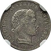 ¼ lira - Ferdinand I – avers