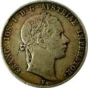 ½ scudo - Franz Joseph I – avers
