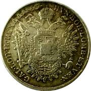 ½ scudo - Franz Joseph I – revers
