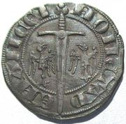 Double Denier Ferri IV (1312-1328) – revers