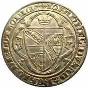 Plaque - Regency of Marie for Jean I 1346-1348 – avers