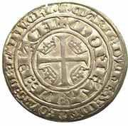 Plaque - Regency of Marie for Jean I 1346-1348 – revers