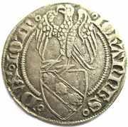 Gros a l'aigle Jean I 1346-1389 – avers