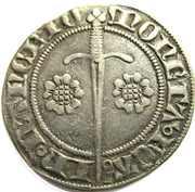 Gros a l'aigle Jean I 1346-1389 – revers
