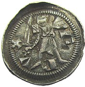 Denier - Ferri IV  (1312-1328) – avers