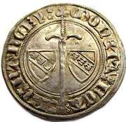 Gros Jean I  1348-1389 – revers