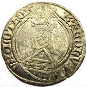 Gros Charles II  1390-1431 – avers
