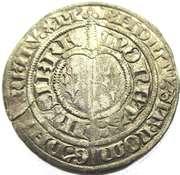 Gros Charles II  1390-1431 – revers