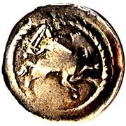 Denier au cavalier Ferri III (Neufchâteau) – avers