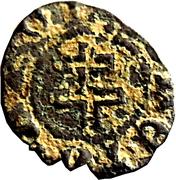 Denier Antoine (type 2 au monogramme et à la croix de Lorraine) – revers