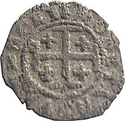 Double denier Henri (croix de jérusalem) -  revers