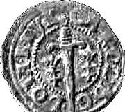 Double denier Charles III (Nancy) – avers
