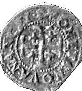 Double denier Charles III (Nancy) – revers