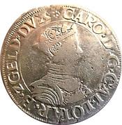 Teston du duc Charles 3(1543-1608) buste juvénile – avers