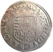 Teston du duc Charles 3(1543-1608) buste juvénile – revers