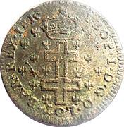 30 deniers Léopold Ier (Croix de Lorraine) – avers