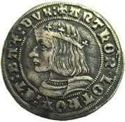 1/4 Teston, Antoine 1512-1544 – avers