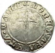 1/2 Gros Francois I 1544-45 – revers