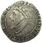 Teston, Francois I 1544-45 – avers