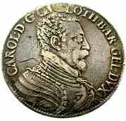 Demi-ecu Aux Aigles Charles III  1545-1608 – avers