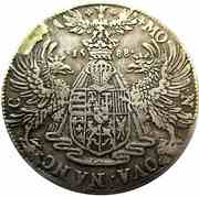 Demi-ecu Aux Aigles Charles III  1545-1608 – revers
