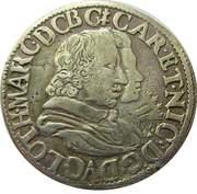 Teston - Charles & Nicole 1624-1626 – avers