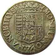Teston - Charles & Nicole 1624-1626 – revers