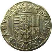 Teston - Francois II  1626-1631 – revers