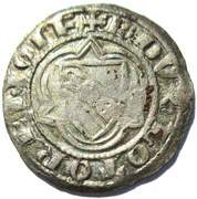 Double Denier - Raoul (1329-1346) – avers