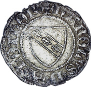 Double denier Charles II – avers