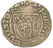 ½ Gros - René II – avers