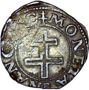 Demi-sol carolus Charles III – revers