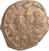 Demi-gros Henri II (Nancy) – revers