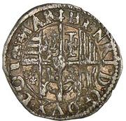 Demi-gros Henri II – avers