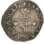 Demi-gros Henri II – revers