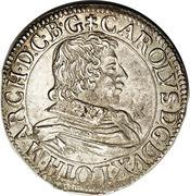1 teston Charles IV – avers