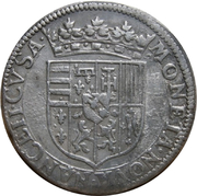Teston duc henri 1 er (1610-1620) – revers
