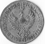 30 deniers François III – avers
