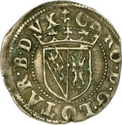 Sol carolus - Charles III – avers