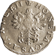 Gros Charles IV – revers