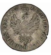 30 deniers Léopold Ier (Croix de Jérusalem) – avers