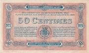 50 centimes - Chambre de Commerce du Lot [46] – revers